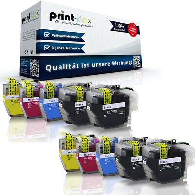 10x Kompatible Tintenpatronen für Brother LC3213 Farb Set XXL-Drucker Pro Serie
