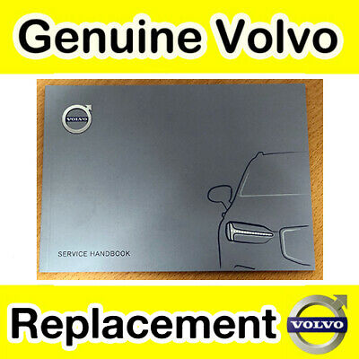 Genuine Volvo Service Record Book (All 2012 Models) V70 S40 V40 V50 C30 C70 XC90