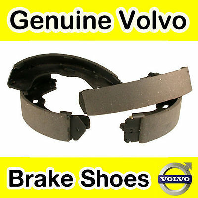 Genuine Volvo S60 (-09) Hand Brake Shoes