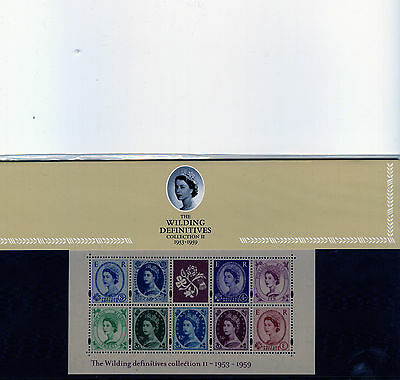 Presentation Packs - number 61 - WILDING MINIATURE SHEET COLLECTION 2
