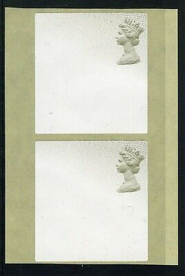 2016  -  unmounted mint - PRINTER PARCEL LABEL -  year code MA16