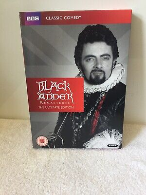 Blackadder - The ultimate edition / complete collection / series on dvd