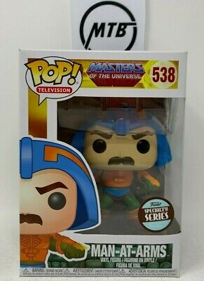 FUNKO POP MASTERS OF THE UNIVERSE MAN AT ARMS 538 SPECIALTY SERIES he man ram