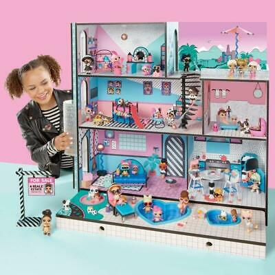 L.O.L. Surprise! House LOL Dolls Huge Brand New 85+ Accessories Play Toy Mansion