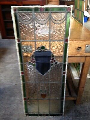 1 Panel STAINED GLASS WINDOW