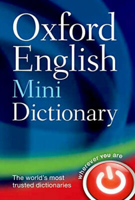 Oxford English Word Mini Dictionary Vocabulary School Pocket Size paperback Easy