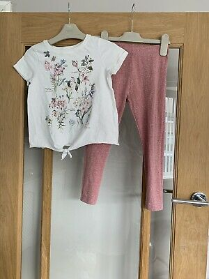 Next Girls Age 6 Outfit - Top & Leggings