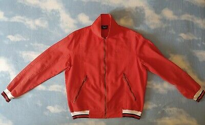 JACKET  vintage '80s AUSTRALIAN by l' Alpina TG.50 -L circa  made in Italy Rare