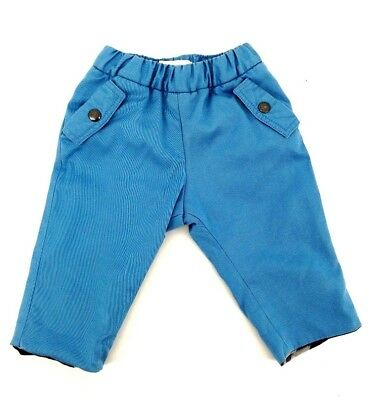 Authentic Burberry Baby Boy Blue Trousers 3 Months