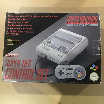 Super Nintendo Entertainment System Grey Console, AUS-PAL, USED