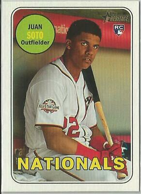 2018 Topps Heritage High Number Rookie Card You Choose
