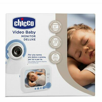 Baby Control Video Top De Luxe 254 Monitor Chicco Baby Controllo Bambini