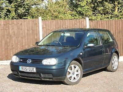 2001 - Volkswagen Golf 2.8 V6 4Motion - Only 76.000 Miles With F.s.h - Golf Vr6