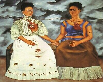 Two Fridas by Frida Kahlo (16) - Van-Go Paint-By-Number Kit