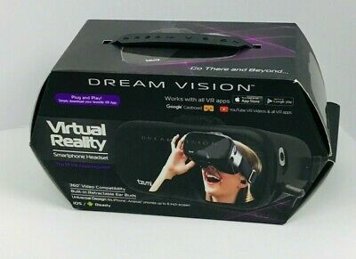 Tzumi Dream Vision Virtual Reality Smartphone Headset New