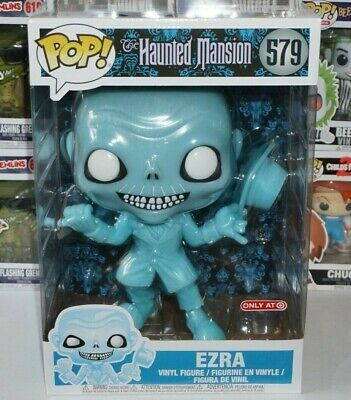 Funko Pop Ezra 10 Inch #579 Haunted Mansion Exclusive Blemished Box
