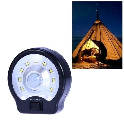 LED Camping Luz de Pared Impermeable Sensor de Movimiento Lámpara Exterior