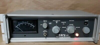 Varian Cary 401 Vibrating Reed Electrometer Picoammeter Controller