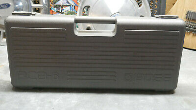 Vintage 1980's Boss BCB-60 Pedal Board Case! Made In Japan! Up To 6 Boss Pedals!