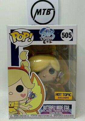 Funko Pop Disney Star Vs The Forces Of Evil Butterfly Mode 505 Hot Topic Exc