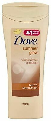 Dove Summer Glow Moisturising Lotion Fair To Normal Skin 250ml