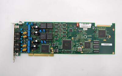 Lot of 2 Dialogic Corp 04-5480-001 D/41JCT-LS 4 Port Analog Voice Media Board
