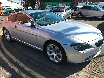 04 Bmw 645 Ci Auto Sports Coupe 30,700 Miles Full 12 Stamp Bmw Service History