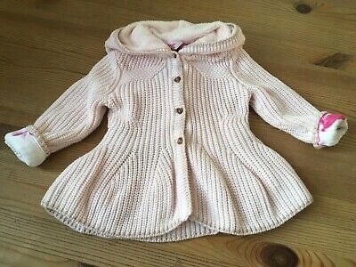 Baby Girl's Ted Baker Winter Cardigan Age 12-18mths