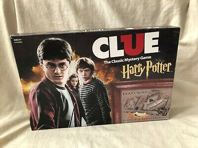 Clue: Harry Potter The Classic Mystery Board Game with Box Complete
