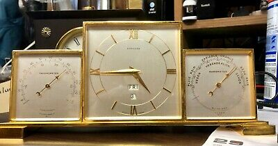 Concord Desk Clock with Day, Date, Thermometer and Barometer