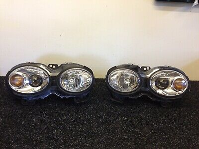 Genuine Jaguar X-Type  EU LHD Left Hand Drive Headlights With New Adjusters