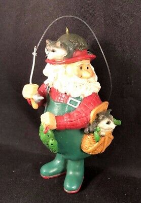 Trimsetter Heritage Collection African American Santa Claus Christmas Ornament