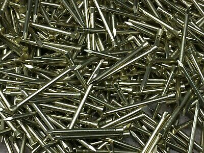 HEAVY DUTY THICK SOLID BRASS PANEL PINS  20mm 25mm 30mm 40mm 50mm 2mm 14g