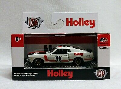 M2 MACHINES O'Reilly Exclusive Holley 1970 FORD MUSTANG BOSS 302 1/64 Ltd. Ed.