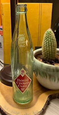 Rare Vintage RC Royal Crown Cola Soda Bottle 16oz 1 Pint
