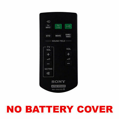 OEM Sony TV Remote Control for  RM-ANU102 (No Cover)