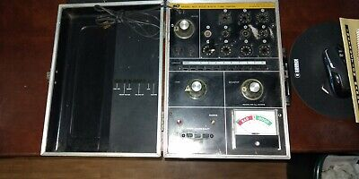 Vintage B&K Dynascan 607 Tube Tester - w/Charts & Manual - Used but works great.