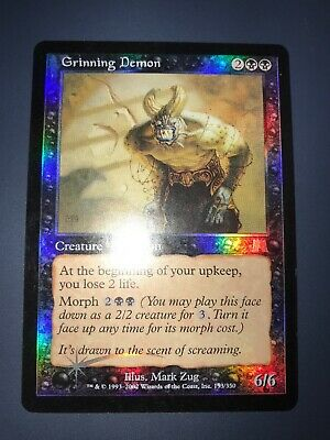 MTG ONSLAUGHT Excellent Condition Grinning Demon