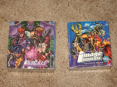 Topps Finest Image Universe Chromium Cards & Wildcats 1994 sealed boxes