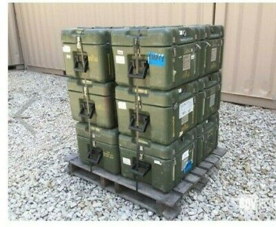 "Hardigg Military Case 18.5""x18.25""x 16Surplus Rugged Shipping container w/Foam"