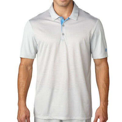 New Adidas Climacool Dot Gradient Golf Polo Stone Small