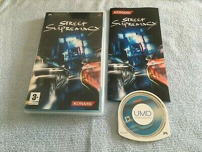 Street Supremacy (Sony PSP, 2006) PAL Complete