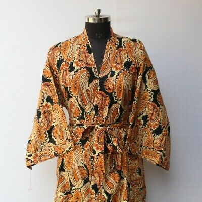 Ladies 100/% Pure Jersey Cotton Robes Dressing Gowns Size 8-22