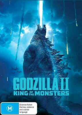 Godzilla 2 II : King Of The Monsters : Aus Stock NEW DVD :2019 Wednesday SPECIAL