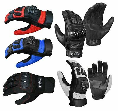 Motorbike Gloves Thermal Wind Waterproof Knuckle Biker Motorcycle Gloves