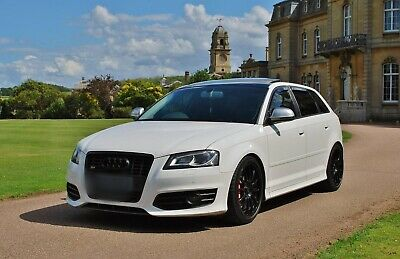 Audi S3 8P 2010  SPORTBACK FULLY FORGED TTE420 400BHP PAN ROOF