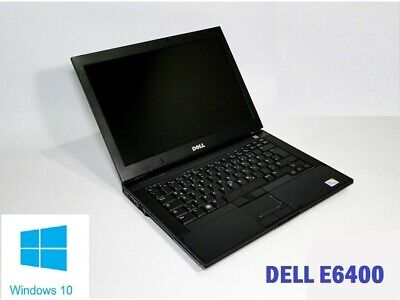 Fast Dell Latitude E6400 Intel Core 2 Duo 4GB RAM 250 GB HDD WINDOWS 10 DVD WIFI