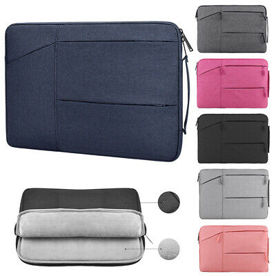 Laptop Bag Sleeve Case Notebook Cover Shockproof For MacBook HP Dell Lenovo