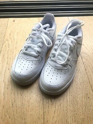 Child's White Nike Force 1 Trainer - Size 13.5 - New
