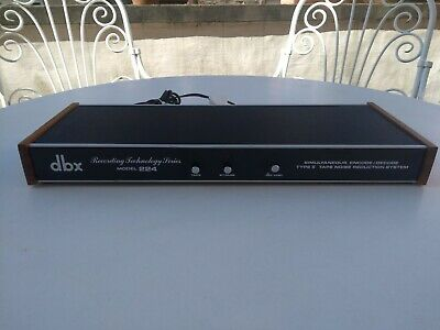 dbx  Type II  Model  224   Vintage Tape Noise Reduction System